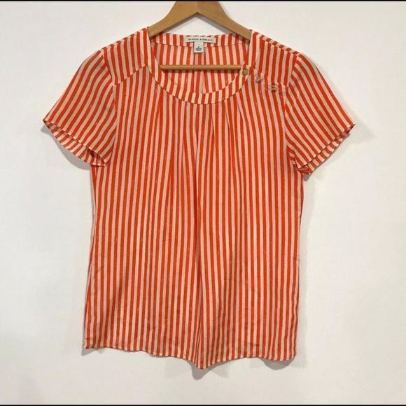 0e2878abff17a2 Banana Republic Tops - Banana Republic Women s Sz 4 Short Sleeve Silk Top